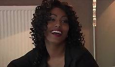 Ebony deep anal sex