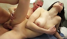 Big Booty Andy Hart Gets a Handjob From His Sister