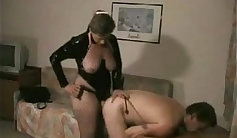 Nastya gets a naughty fuck from lucky dude