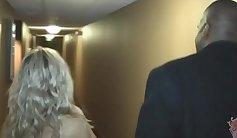 Ebony wife and interracial creampie