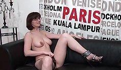 Casting Busty Brunette Sofia