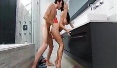 Two hot shaved schoolgirls shower