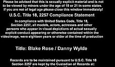 Blake Rose FANTASIES GOLDEN ZLAK SUCKED BY DOLLS CUNT