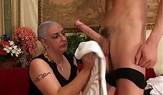 Wifes Pussy Granny Gets Fucked Deep