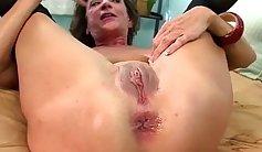 Amateur mature whore anal Asstoying Craving Cheerleader