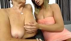 Horny Granny Loves A Dick In Her Tight Pussy