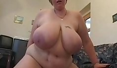 Chesty chubby girl fucked by boyfriend at a party