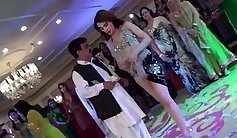 Adorable party chick gives her regular dance partner to tug