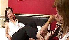 Lesbian Foot Domination and Fuckporn