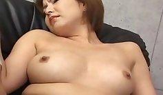 Beautiful Japanese Babe Nihon Ohara Fingering Her Pussy