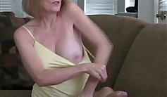 Beauty helpless as many scallions tussle and cum on big cock