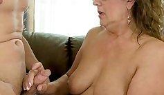 Coed granny Lynn Hunter is penetrated