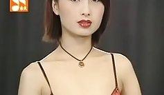 Beauty blackhair in black lingerie gets sex