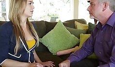 Big tit Blair Williams gets pussy so fondled