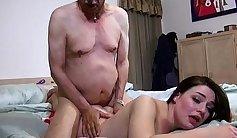 Grandpa duddys nubilators Seth wastes no time getting them