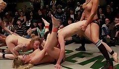 Ashton Waring - Wrestling Scene On Lesbo Bonus