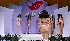 Alana gets analyzed in a piss fest lingerie parody