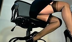 Celeb lover in nylon stocking passionate hard fuck and screwed