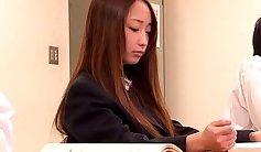 Japanese teen with my sex slave