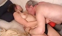 Tube of old dude on lovely woman being fucked