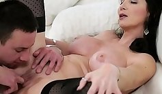 Amazing busty granny gets fucked