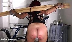 BDSM Fetish Slave Latina Cali Hayes Licking Stones