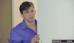 Erotic Roommate Big Tit Mom Porn Video
