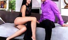 An escort babe seduced by secretary