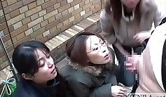 Nasty Double Penetration with Japanese in Public Park Nikki