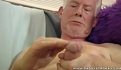Blonde Daddy Sid Link loves to ride his cock