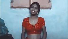 Beautiful Indian wife fucks her own husband