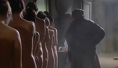 Hardcore shower and group sex with hot students Kyouran off