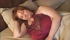Chubby Redhead MILF Loses Her Boobs
