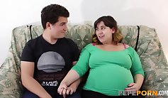 BCVSEX - BBW And Her Pregnant Girlfriend Sucking Dick
