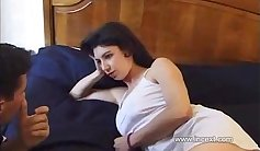Mom and son amateur anal fucking