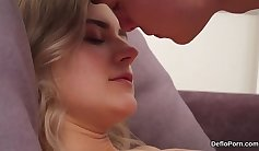 Anastasia spreads panties and cunts her vagina