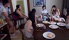 Japan Family Loving Odenex Congirl