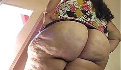 Kalebs creampie rubs her bigtitted cunt